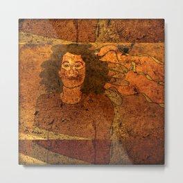 CatUna / Portrait Metal Print