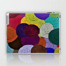 Colorful Circle Art Laptop & iPad Skin