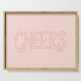 Cheers! Serving Tray