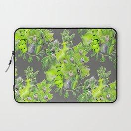 Chartreuse pattern Laptop Sleeve