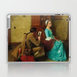 THE SILHOUETTE by NORMAN ROCKWELL Laptop & iPad Skin