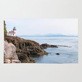 Lime Kiln Lighthouse Rug