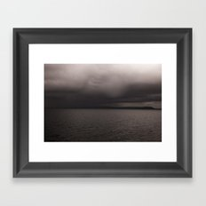 BlueMountain 2 Framed Art Print