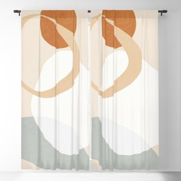 Abstract Art / Shapes 39 Blackout Curtain