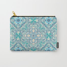 Gypsy Floral in Teal & Blue Tasche