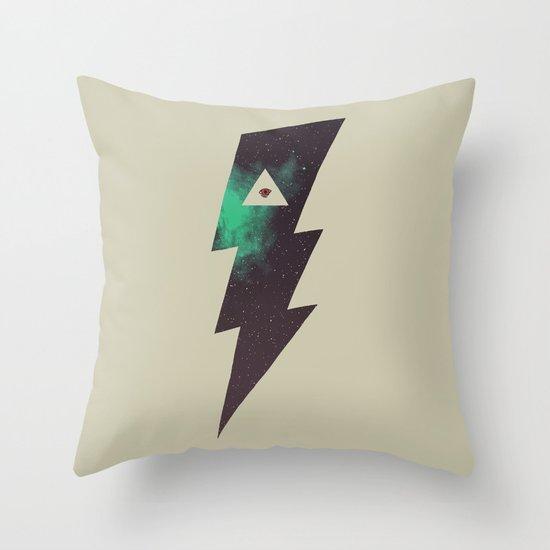 Dark Energy Throw Pillow