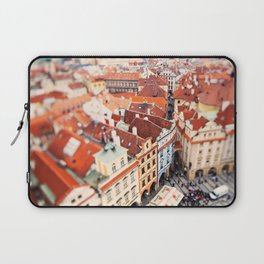 Red Roof Prague Laptop Sleeve