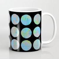 dots Mugs featuring Dots  by LebensARTdesign