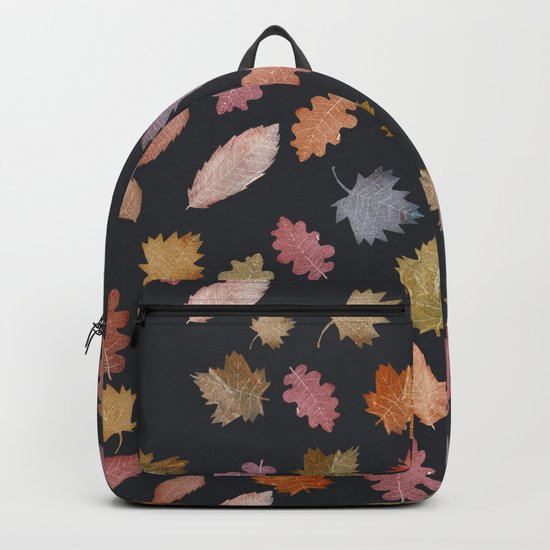 october leaves Backpack