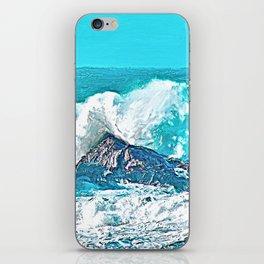 Salt Spray iPhone Skin