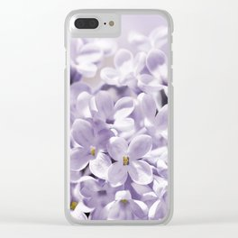 Lilacs  0107 Clear iPhone Case