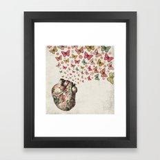 In Love Framed Art Print