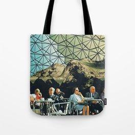 When we are older, vintage collage Tote Bag