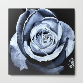 Rose in oils Metal Print