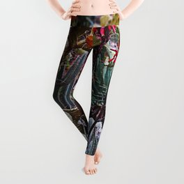 GDN 3 (The upper-class succulent society) Leggings