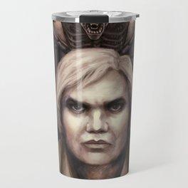 Giger Portrait Travel Mug