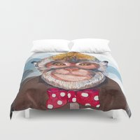 lab Duvet Covers featuring Dexter's Lab by MY  HOME