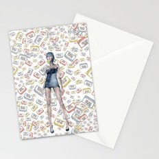 London Club Scene | Punk Rock Girl  Stationery Cards