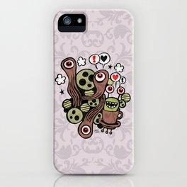 COSMIC LOVE ZONE iPhone Case