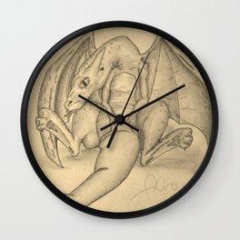 Baby Dragon Wall Clock