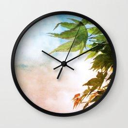 Maple Wall Clock