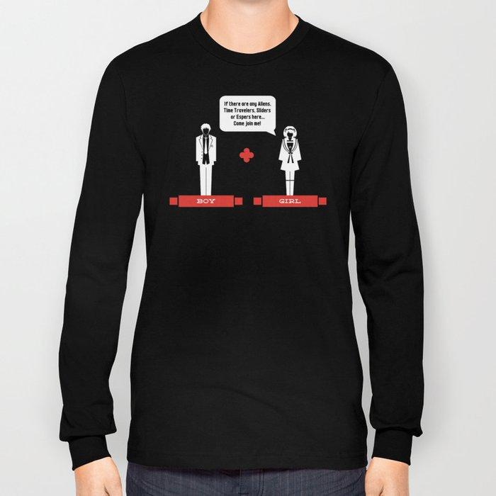 Boy Meets Girl Alt. Long Sleeve T-shirt
