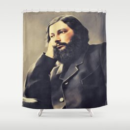 Gustave Courbet, Artist Shower Curtain