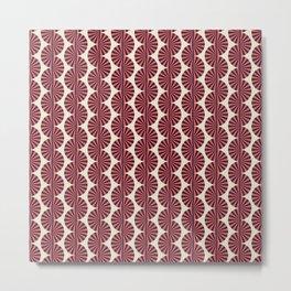 Colored Fifties Pattern 07 Metal Print