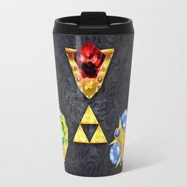 The Timeless Legend of Zelda Inspired Spiritual Stones Travel Mug