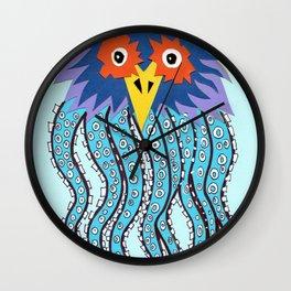 the owl of cthulu Wall Clock