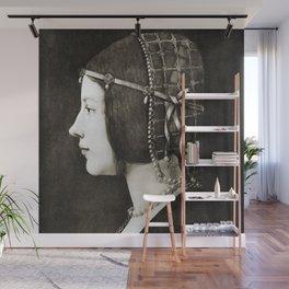 Bianca Sforza by Leonardo da Vinci Wall Mural