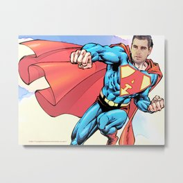 Super Alberto Metal Print