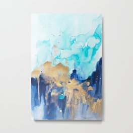 Abstract watercolor Metal Print