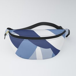 Pucciana Blue Fanny Pack