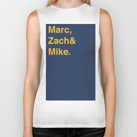 memphis Biker Tanks featuring Memphis Grizzlies by Will Wild