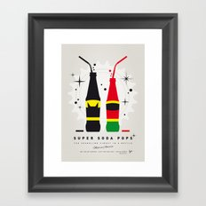 My SUPER SODA POPS No-01 Framed Art Print