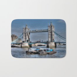 London Tower Bridge Bath Mat