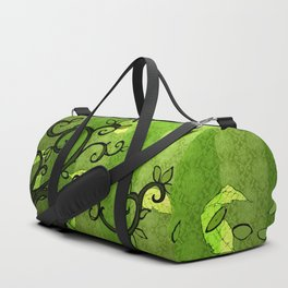 LEAVE - Summer Green Duffle Bag
