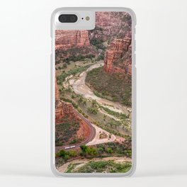 A Rest at Angels Rest Clear iPhone Case