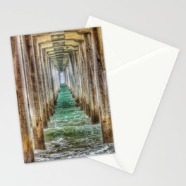 Huntington Beach Pier Tunnel Vision Stationery Cards