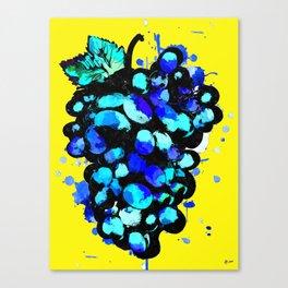Colored Grape Canvas Print
