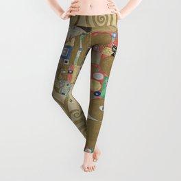 Gustav Klimt - The Embrace Leggings