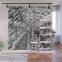 Griswold Christmas Tree - Black And White Wall Mural