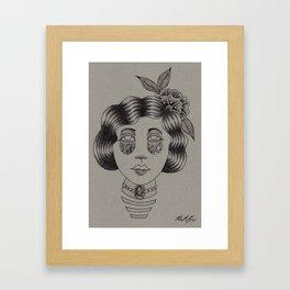 Mountain Women Framed Art Print
