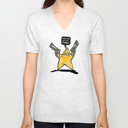 Shooting Star Unisex V-Neck