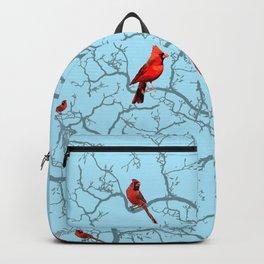 Winter Cardinals Backpack