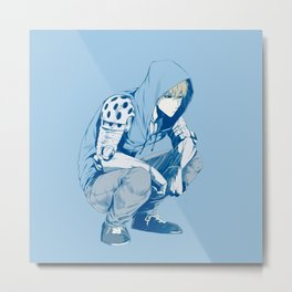 Genos sit down Metal Print