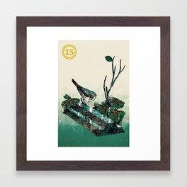 Slice & Dice - Silver Framed Art Print