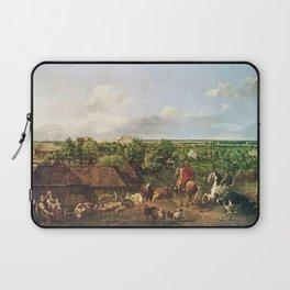 Bernardo Bellotto - View of Ujazdów from the Royal Baths Laptop Sleeve