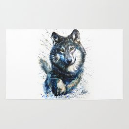Gray Wolf - Forest King Rug